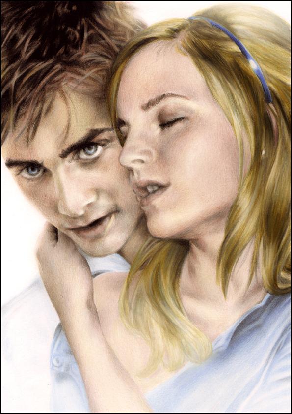Michael and Anahita. by dreamarian