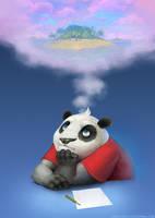 pandas paradise by gorec