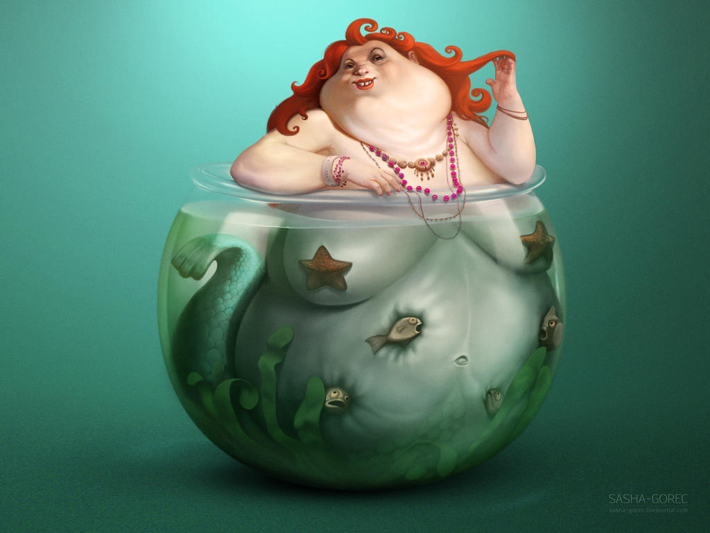 my home mermaid by gorec