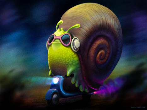 speedy snail