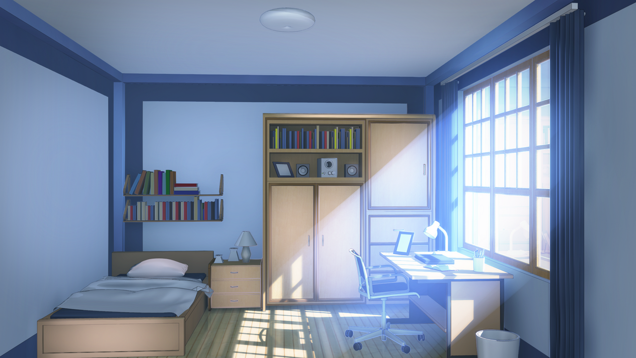 Bedroom by badriel on deviantart for Scenery wallpaper for bedroom