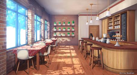 Cafe by Badriel