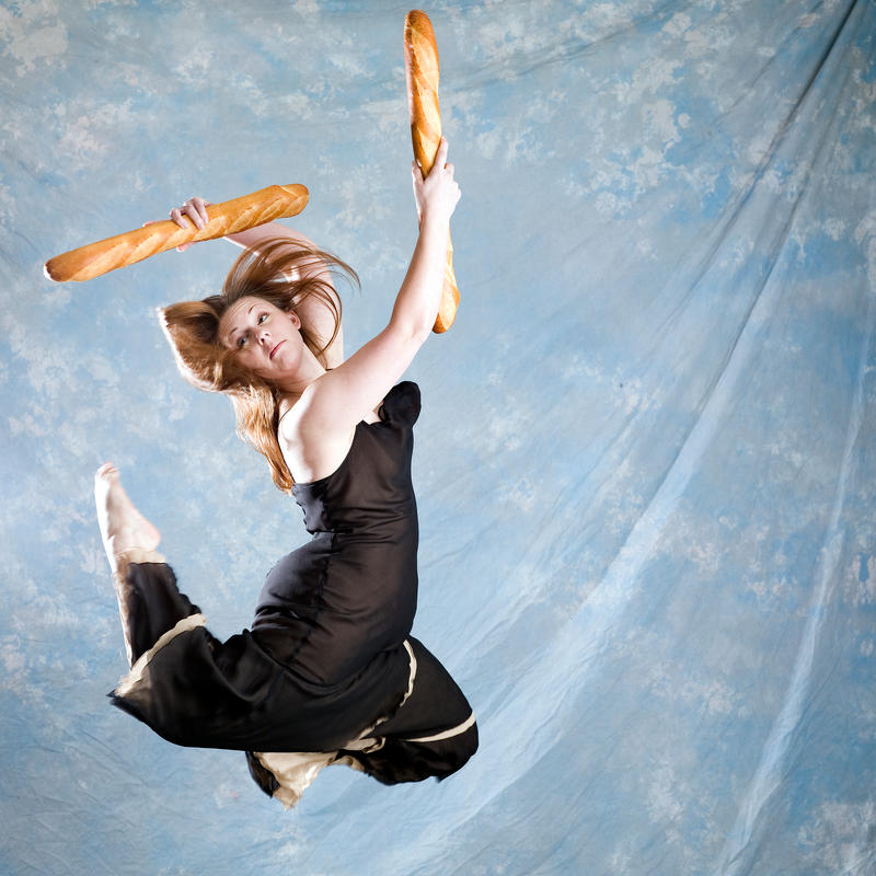 Flight of the Baguette by FireAwayphoto