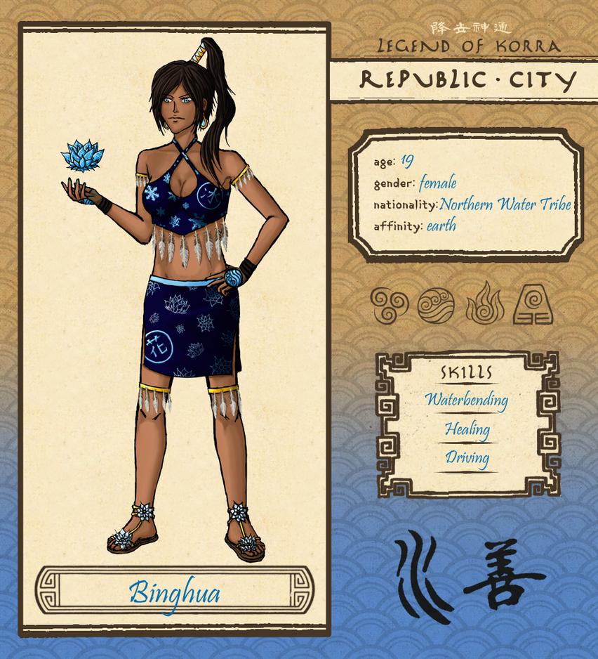 Republic City: Binghua by KiyokoAmaya