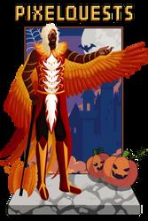 PQ: Halloween Meme (Phoenix) by KiyokoAmaya