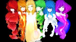 REDRAW Rainbow - Speedpaint by Iydimm