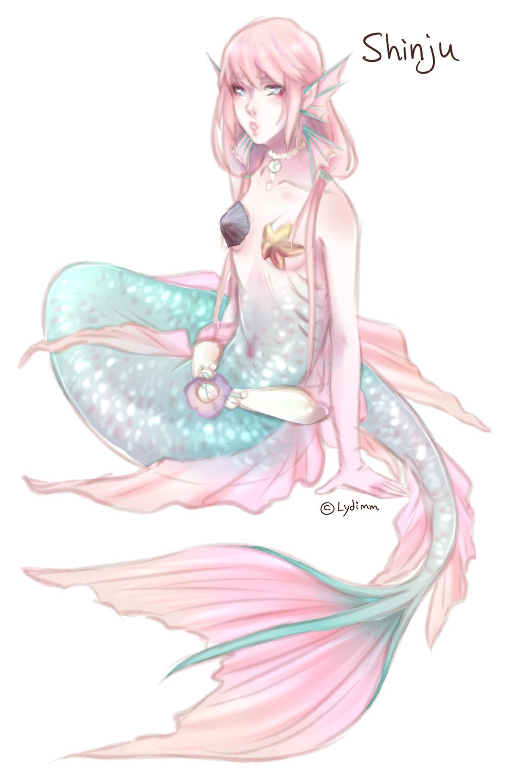 Little Mermaid OC By Iydimm On DeviantArt