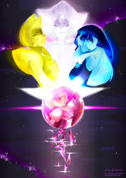 [Speedpaint] The Diamonds (Steven Universe) by Iydimm