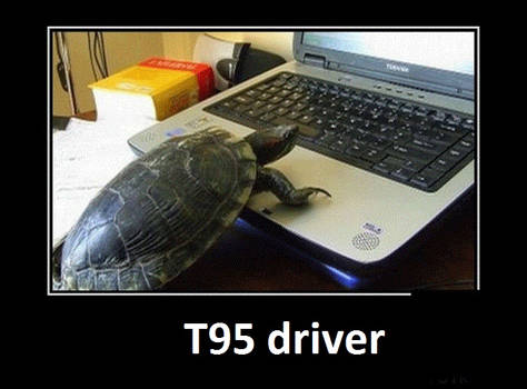 In Real Life T95 driver by CharlesCAW
