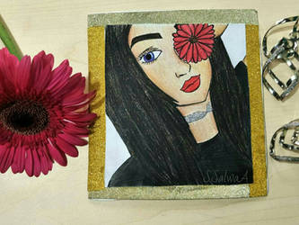 Mounata's birthday card  by Sapphire--Kitty