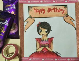 Samara's Birthday Card by Sapphire--Kitty