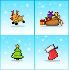 Psypets - Christmas Items by OracleSaturn