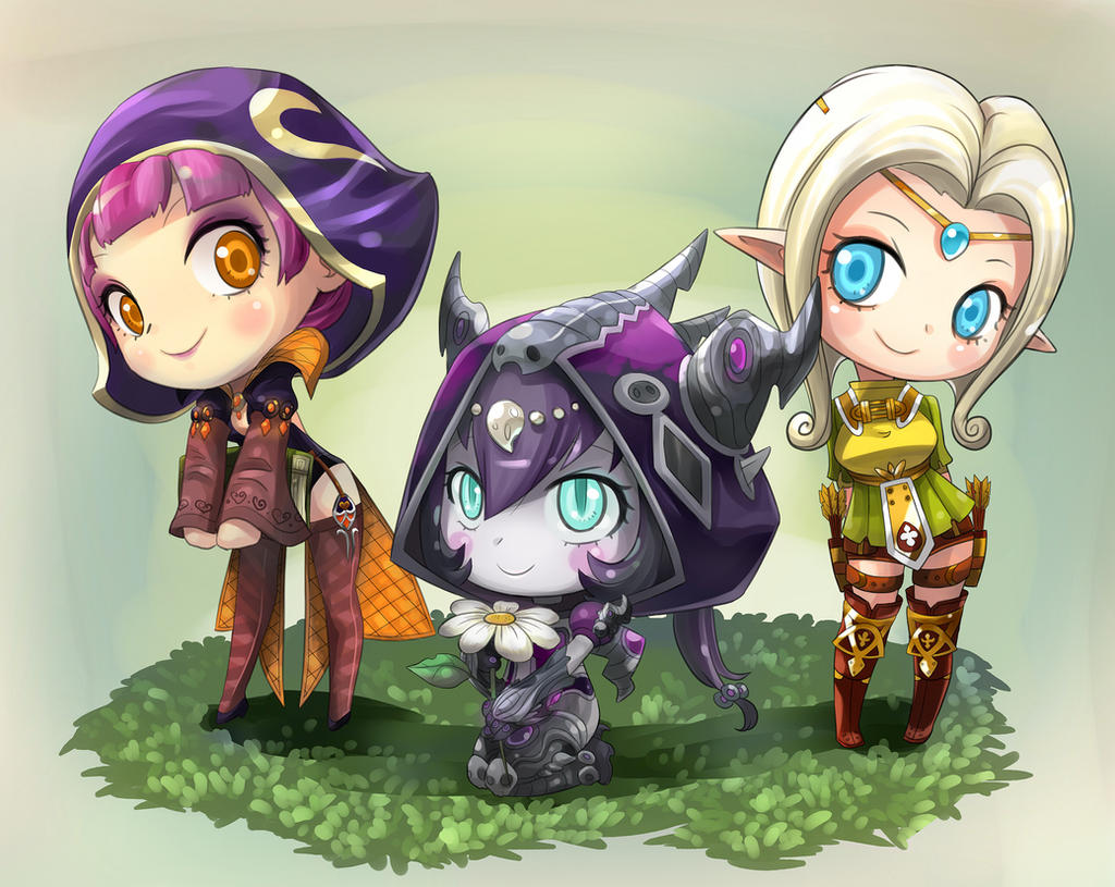 Fanart: Dragon Nest by OracleSaturn