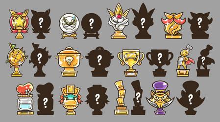 Trophies by OracleSaturn