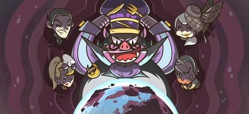 Chef Wars Baron Von Pork Background