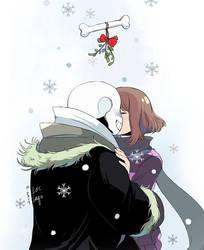 Mistletoe Kiss by OracleSaturn