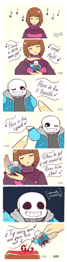 Little Sans-pot
