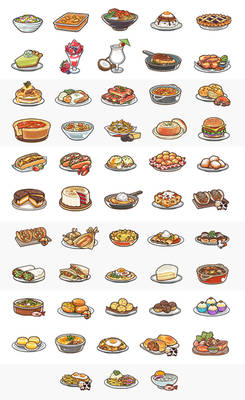 Summer and American Dishes