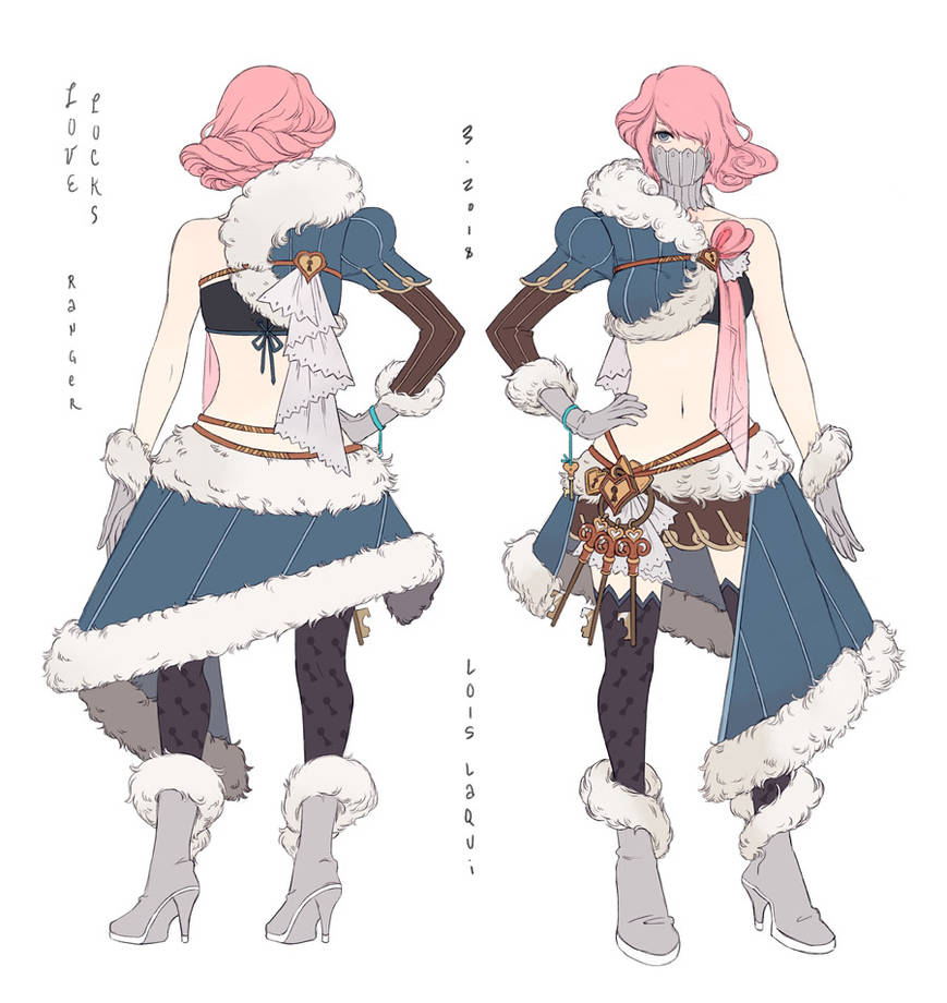 Love Locks Costume by OracleSaturn