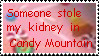 Candy Mountain Stamp by zafara1222