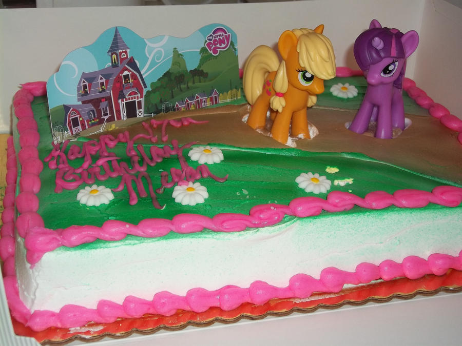 My Little Pony Friendship Is Magic Cake Decorations