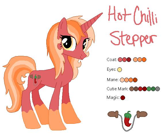 Hot Chili Stepper - MLP:FiM OC by zafara1222