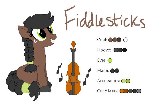 Fiddlesticks - MLP:FiM OC by zafara1222
