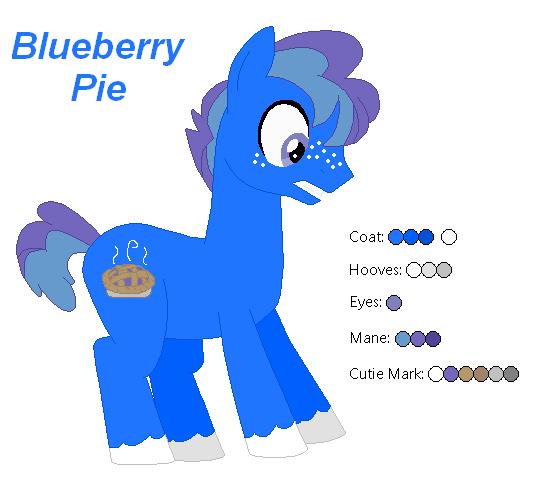 Blueberry Pie - MLP:FiM OC by zafara1222