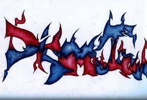 Graffiti 'DISMOTRON' by DISMOTRON