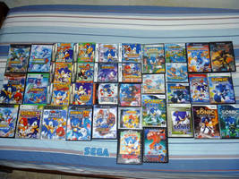 Large Collection of Sonic Game by DISMOTRON