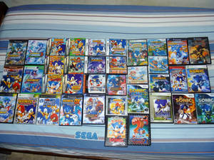 Large Collection of Sonic Game