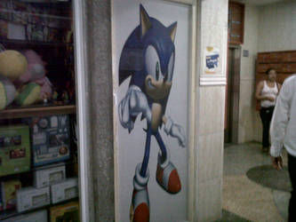 Sonic Door by DISMOTRON