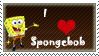 Spongebob stamp by Dreamypunk