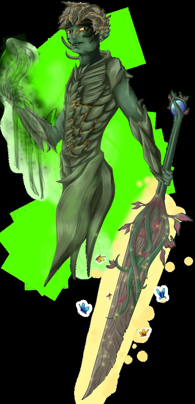 Trahearne - Legendary Necromancer by Sylvari-Salad