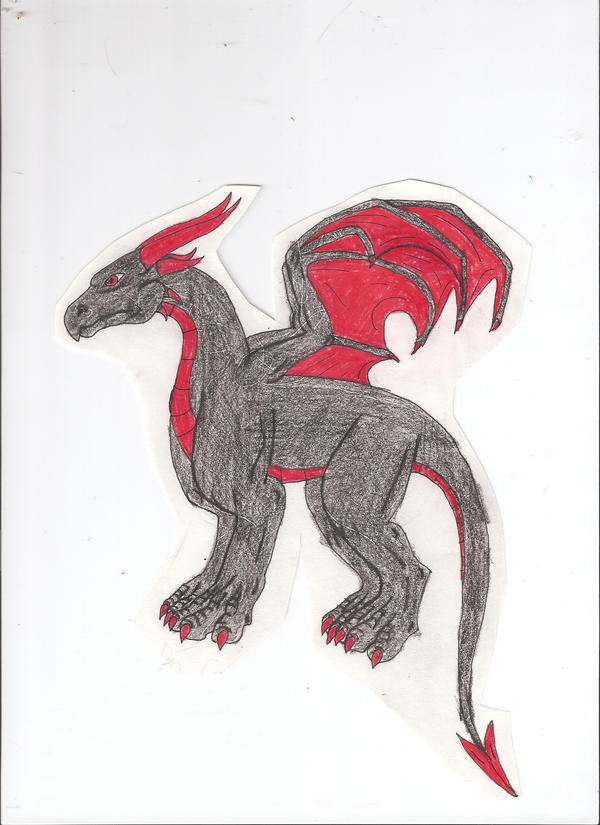 Best Draco picture I ever drew by Tremlin