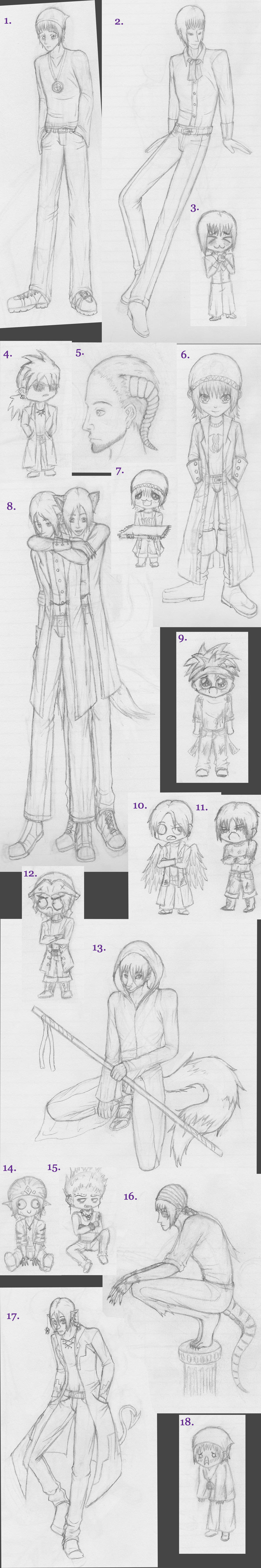 All dem sketches by Tremlin