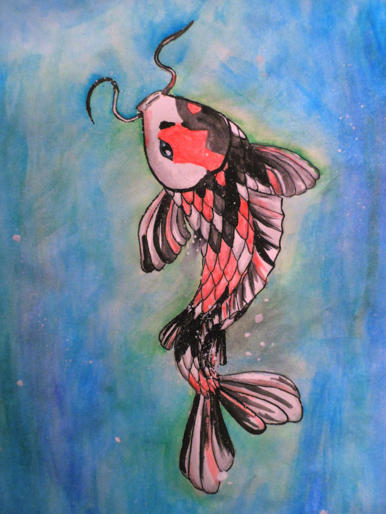 Koi Fish by Tremlin