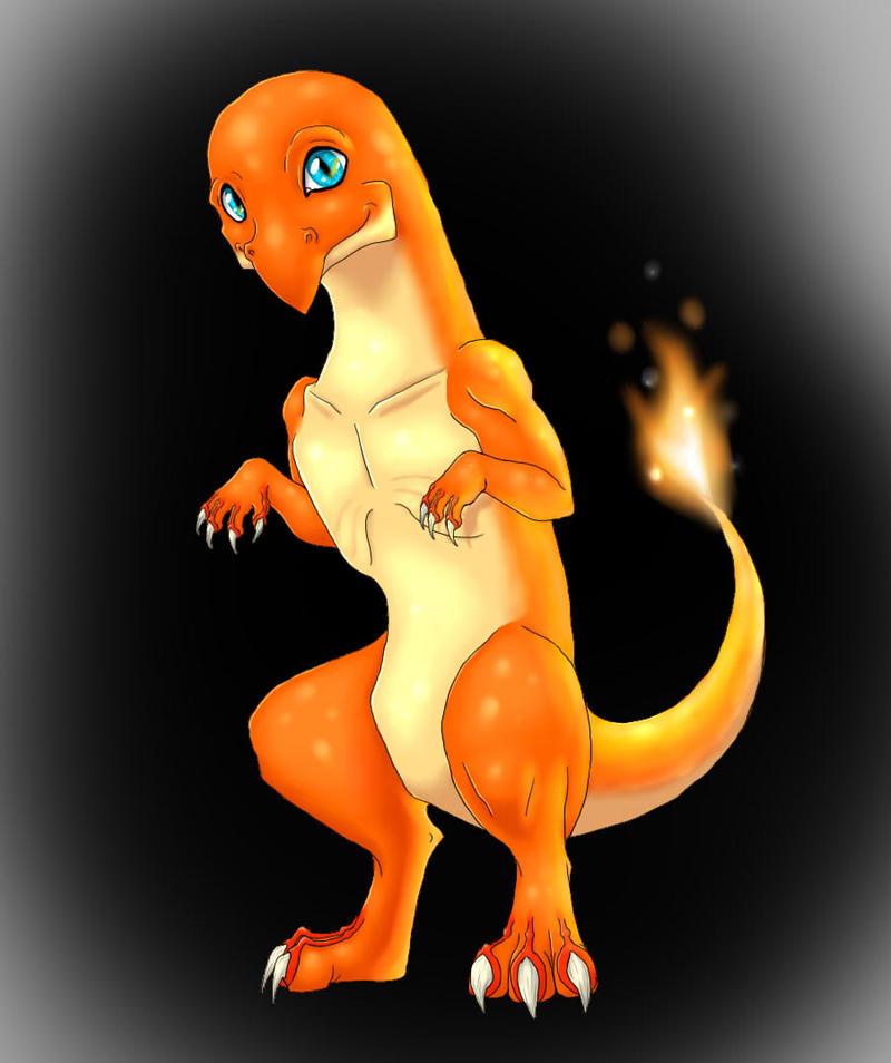 Dat Flamin' Lizard by Tremlin