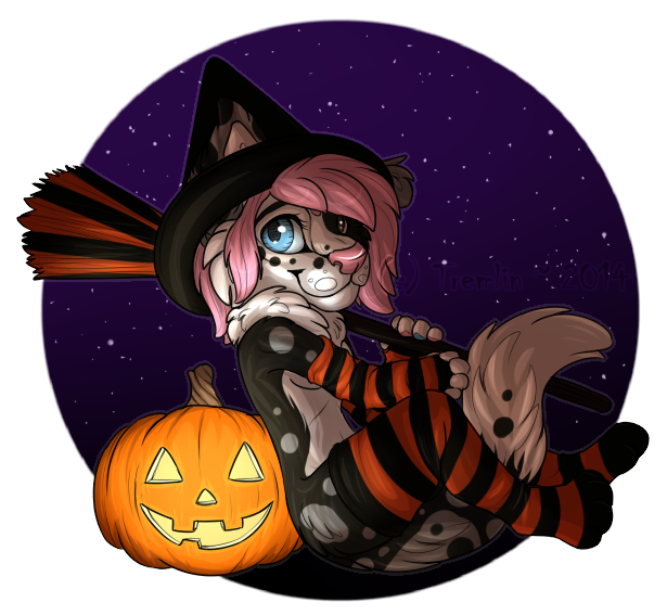 Co060: Little Witch by Tremlin