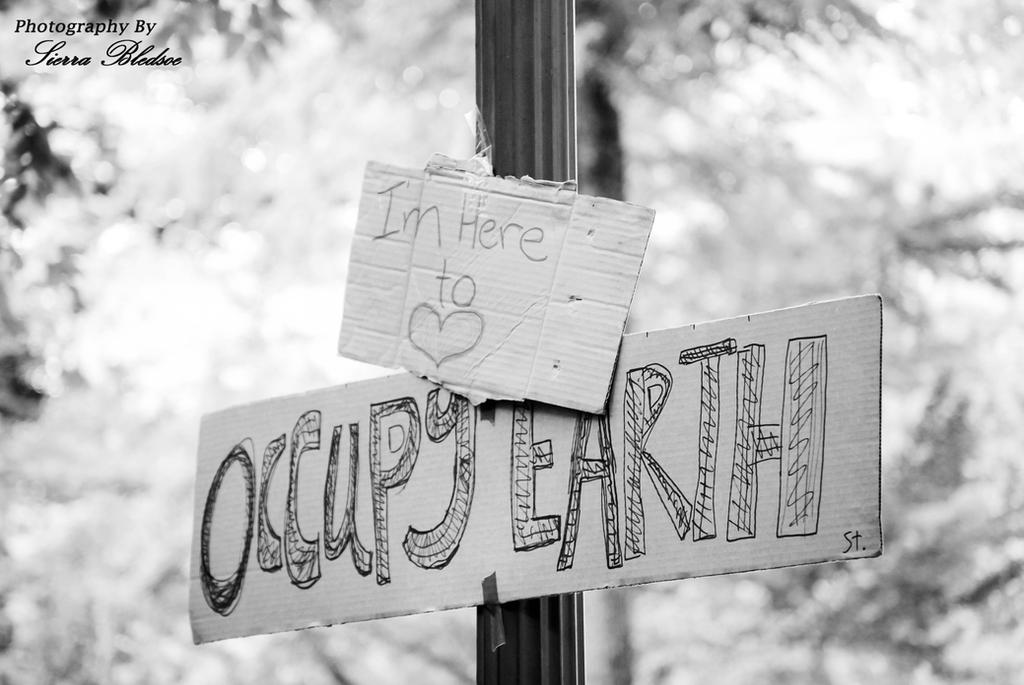 Occupy Earth by Sierra-thekidd