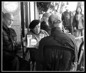 Conversation Cafe Puccini