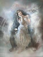 Queen of the Dead by IdaLarsenArt