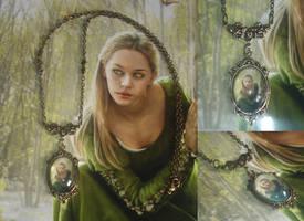 The Secret Forest Necklace by IdaLarsenArt
