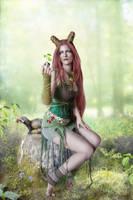 Queen of Spring by IdaLarsenArt