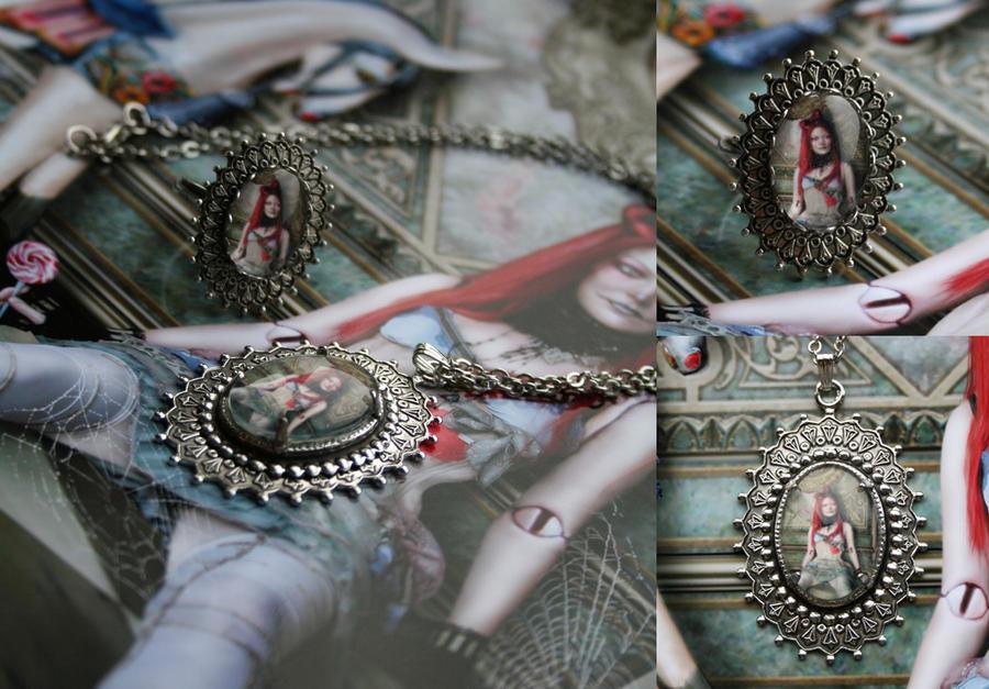 The Lost Toys Jewelry Set by IdaLarsenArt