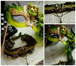 Absinthe Mask and Choker