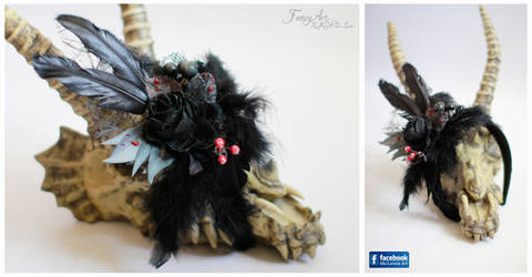 Queen of the Night Headpiece