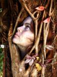 Tree Woman by IdaLarsenArt