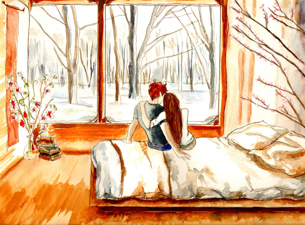 Winter Love by LittleSeaSparrow