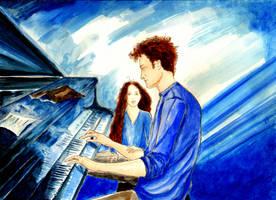 Song For A Blue Dawn by LittleSeaSparrow